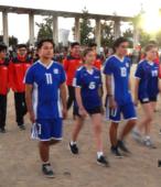 Delegaciones de todos los colegios de la Corporación Municipal de Maipú, tomaron parte en el desfile cívico efectuado en esta ocasión (31)