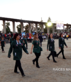 Delegaciones de todos los colegios de la Corporación Municipal de Maipú, tomaron parte en el desfile cívico efectuado en esta ocasión (4)