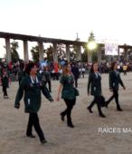 Delegaciones de todos los colegios de la Corporación Municipal de Maipú, tomaron parte en el desfile cívico efectuado en esta ocasión (5)