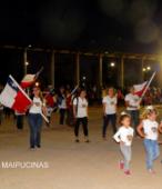 Desfile de las delegaciones de las dependencias y unidades municipales y de la sociedad civil de Maipú (10)