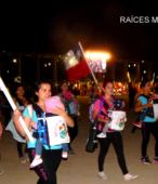 Desfile de las delegaciones de las dependencias y unidades municipales y de la sociedad civil de Maipú (11)