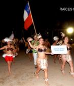 Desfile de las delegaciones de las dependencias y unidades municipales y de la sociedad civil de Maipú (20)
