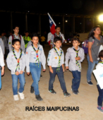 Desfile de las delegaciones de las dependencias y unidades municipales y de la sociedad civil de Maipú (21)
