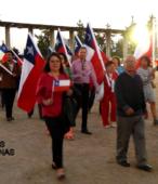 Desfile de las delegaciones de las dependencias y unidades municipales y de la sociedad civil de Maipú (3)