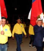 Desfile de las delegaciones de las dependencias y unidades municipales y de la sociedad civil de Maipú (8)