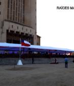 La explanada del Templo Votivo fue el lugar de la ceremonia con que la comunidad de Maipú conmemoró el Bicentenario de la Batalla del 5 de Abril de 1818 (2)
