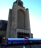 La explanada del Templo Votivo fue el lugar de la ceremonia con que la comunidad de Maipú conmemoró el Bicentenario de la Batalla del 5 de Abril de 1818 (3)