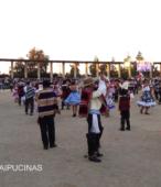 Nuestro baile nacional, la cuecam durante el esquinazo ofrecido por el Club de Rodeo Alberto Llona Reyes de Maipú (2)