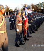 Unidad de Formación de la Escuela de Suboficiales del Ejército, en la explanada del Templo Votivo de Maipú (4)
