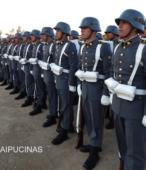 Unidad de Formación de la Escuela de Suboficiales del Ejército, en la explanada del Templo Votivo de Maipú (5)