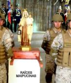 El día 5 de abril, las imágenes peregrinas estuvieron presentes en el Te Deum de los 200 años de la Batalla, en el Santuario Nacional de Maipú (1)