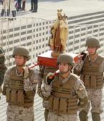 El día 5 de abril, las imágenes peregrinas estuvieron presentes en el Te Deum de los 200 años de la Batalla, en el Santuario Nacional de Maipú (2)