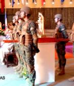 El día 5 de abril, las imágenes peregrinas estuvieron presentes en el Te Deum de los 200 años de la Batalla, en el Santuario Nacional de Maipú (23)