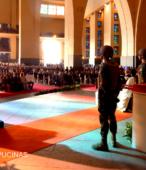 El día 5 de abril, las imágenes peregrinas estuvieron presentes en el Te Deum de los 200 años de la Batalla, en el Santuario Nacional de Maipú (24)