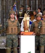 El día 5 de abril, las imágenes peregrinas estuvieron presentes en el Te Deum de los 200 años de la Batalla, en el Santuario Nacional de Maipú (26)