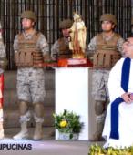 El día 5 de abril, las imágenes peregrinas estuvieron presentes en el Te Deum de los 200 años de la Batalla, en el Santuario Nacional de Maipú (29)