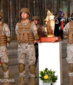 El día 5 de abril, las imágenes peregrinas estuvieron presentes en el Te Deum de los 200 años de la Batalla, en el Santuario Nacional de Maipú (32)