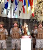 El día 5 de abril, las imágenes peregrinas estuvieron presentes en el Te Deum de los 200 años de la Batalla, en el Santuario Nacional de Maipú (36)