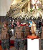 El día 5 de abril, las imágenes peregrinas estuvieron presentes en el Te Deum de los 200 años de la Batalla, en el Santuario Nacional de Maipú (40)