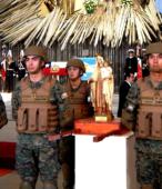 El día 5 de abril, las imágenes peregrinas estuvieron presentes en el Te Deum de los 200 años de la Batalla, en el Santuario Nacional de Maipú (45)