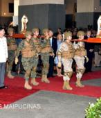 El día 5 de abril, las imágenes peregrinas estuvieron presentes en el Te Deum de los 200 años de la Batalla, en el Santuario Nacional de Maipú (46)