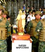 El día 5 de abril, las imágenes peregrinas estuvieron presentes en el Te Deum de los 200 años de la Batalla, en el Santuario Nacional de Maipú (5)