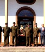 Las imágenes de la Virgen del Carmen peregrinaron desde Arica y Punta Arenas hacia Santiago, pasando por los diferentes cuarteles y reparticiones del Ejército (21)