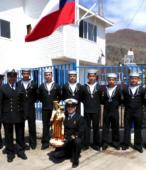 Las imágenes de la Virgen del Carmen peregrinaron desde Arica y Punta Arenas hacia Santiago, pasando por los diferentes cuarteles y reparticiones del Ejército (22)