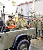 Las imágenes de la Virgen del Carmen peregrinaron desde Arica y Punta Arenas hacia Santiago, pasando por los diferentes cuarteles y reparticiones del Ejército (23)