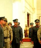 Las imágenes de la Virgen del Carmen peregrinaron desde Arica y Punta Arenas hacia Santiago, pasando por los diferentes cuarteles y reparticiones del Ejército (8)