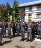 Los días previos al 5 de abril. las dos imágenes permanecieron en la Escuela de Suboficiales del Ejército, donde fueron veneradas por el personal y alumnos dragoneantes (6)