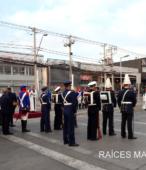 Solemne peregrinación a primera hota del día 5 de abril, desde el Estadio Municipal Coronel Santiago Bueras, hasta el Santuario Nacional de Maipú (10)