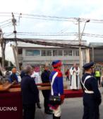 Solemne peregrinación a primera hota del día 5 de abril, desde el Estadio Municipal Coronel Santiago Bueras, hasta el Santuario Nacional de Maipú (11)