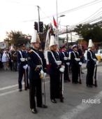 Solemne peregrinación a primera hota del día 5 de abril, desde el Estadio Municipal Coronel Santiago Bueras, hasta el Santuario Nacional de Maipú (15)