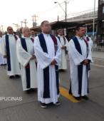 Solemne peregrinación a primera hota del día 5 de abril, desde el Estadio Municipal Coronel Santiago Bueras, hasta el Santuario Nacional de Maipú (19)