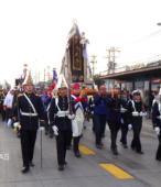 Solemne peregrinación a primera hota del día 5 de abril, desde el Estadio Municipal Coronel Santiago Bueras, hasta el Santuario Nacional de Maipú (20)