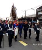 Solemne peregrinación a primera hota del día 5 de abril, desde el Estadio Municipal Coronel Santiago Bueras, hasta el Santuario Nacional de Maipú (21)
