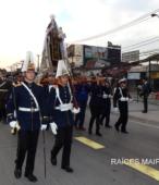 Solemne peregrinación a primera hota del día 5 de abril, desde el Estadio Municipal Coronel Santiago Bueras, hasta el Santuario Nacional de Maipú (24)