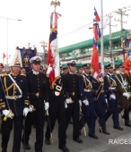 Solemne peregrinación a primera hota del día 5 de abril, desde el Estadio Municipal Coronel Santiago Bueras, hasta el Santuario Nacional de Maipú (29)