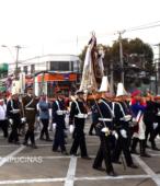 Solemne peregrinación a primera hota del día 5 de abril, desde el Estadio Municipal Coronel Santiago Bueras, hasta el Santuario Nacional de Maipú (31)