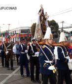 Solemne peregrinación a primera hota del día 5 de abril, desde el Estadio Municipal Coronel Santiago Bueras, hasta el Santuario Nacional de Maipú (33)