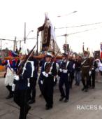 Solemne peregrinación a primera hota del día 5 de abril, desde el Estadio Municipal Coronel Santiago Bueras, hasta el Santuario Nacional de Maipú (37)