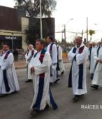 Solemne peregrinación a primera hota del día 5 de abril, desde el Estadio Municipal Coronel Santiago Bueras, hasta el Santuario Nacional de Maipú (38)