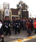 Solemne peregrinación a primera hota del día 5 de abril, desde el Estadio Municipal Coronel Santiago Bueras, hasta el Santuario Nacional de Maipú (41)