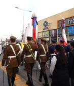 Solemne peregrinación a primera hota del día 5 de abril, desde el Estadio Municipal Coronel Santiago Bueras, hasta el Santuario Nacional de Maipú (42)