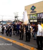 Solemne peregrinación a primera hota del día 5 de abril, desde el Estadio Municipal Coronel Santiago Bueras, hasta el Santuario Nacional de Maipú (43)