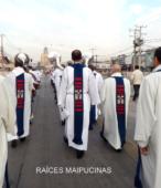 Solemne peregrinación a primera hota del día 5 de abril, desde el Estadio Municipal Coronel Santiago Bueras, hasta el Santuario Nacional de Maipú (44)