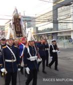 Solemne peregrinación a primera hota del día 5 de abril, desde el Estadio Municipal Coronel Santiago Bueras, hasta el Santuario Nacional de Maipú (48)