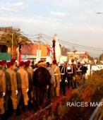 Solemne peregrinación a primera hota del día 5 de abril, desde el Estadio Municipal Coronel Santiago Bueras, hasta el Santuario Nacional de Maipú (56)
