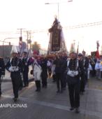 Solemne peregrinación a primera hota del día 5 de abril, desde el Estadio Municipal Coronel Santiago Bueras, hasta el Santuario Nacional de Maipú (61)